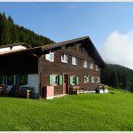 Zaferna Hütte im Kleinwalsertal