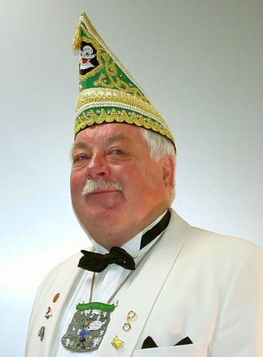 Senatspräsident Heinz Becker